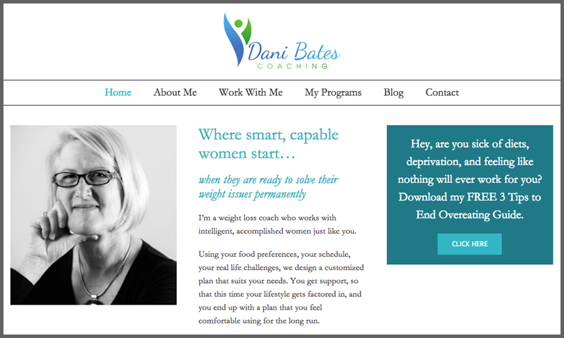 Dani Bates Weight Loss Coaching