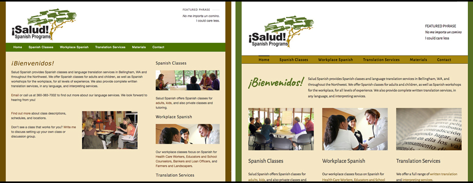 Salud Spanish